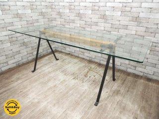ドリアデ driade フラーテ Frate ダイニングテーブル W200cm エンツォ・マーリ Enzo Mari カンファレンステーブル ●
