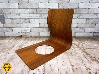 天童木工 TENDO ローズウッド 座椅子 プライウッド 藤森健次デザイン ●