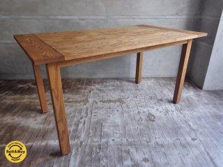 モモナチュラル MOMO natural ベント VENT オーク材 ダイニングテーブル 幅140cm ♪
