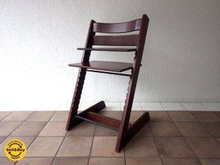 ストッケ STOKKE トリップトラップ TRIPP TRAPP チェア 新型 木製ガード付 ナチュラル ノルウェー ●