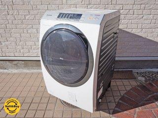 パナソニック Panasonic ドラム式 洗濯乾燥機 洗濯9kg 乾燥6kg 2014年製 NA-VX3500L ●