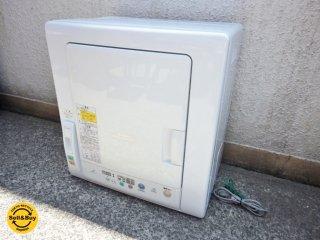 日立 HITACHI あとは着るだけ 衣類乾燥機 ホワイト DE-N45FX 2013年製 ●