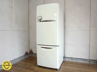 ナショナル National ウィル WiLL シリーズ パーソナルノンフロン冷凍冷蔵庫 フリッジミニ FRIDGE mini 廃盤 ホワイト '03年式 162L ◇