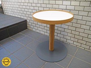 テオリ TEORI ワンサイドテーブル ONE SIDE TABLE トレイ サイドテーブル 美品 ホワイト ■