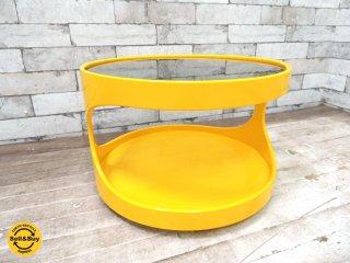 ネブ NEBU 70's ビンテージ サロンテーブル スペースエイジデザイン ラウンド コーヒーテーブル ★