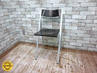 アエラデリック AREA declic ポケットウッドチェア pocket wood chair 折たたみチェア ダークブラウン A ●