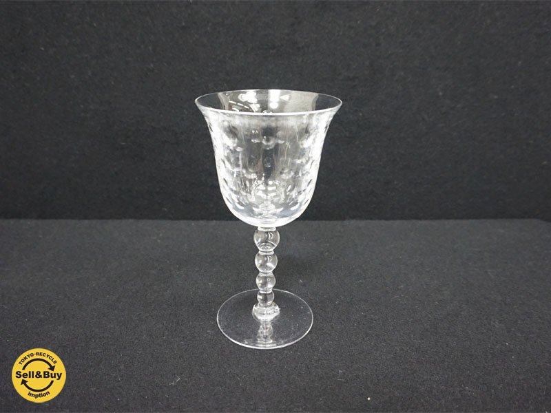 サンルイ Saint Louis バブルス ワイングラス クリスラルガラス ●