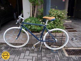 トーキョーバイク tokyobike ネイビー シングル8段変速 フレームSサイズ(47cm)650c×25c タイヤ新品交換済 女性向け ★