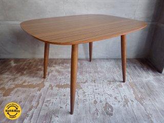 カリモク60+ karimoku Dテーブル ラバートリー ウォールナットカラー ♪