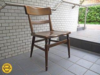 柏木工 KASHIWA ウィルダネス WILDERNESS ダイニングチェア オーク材 無垢材 飛騨の家具 C ■