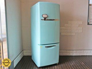 ナショナル National ウィル WiLL Fridge mini 冷蔵庫 162L ターコイズ カラー 2003年製 ◎