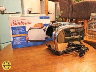 サンビーム Sunbeam トーストロジック トースター Toast Logic Toaster 2枚 ポップアップ式 取説 箱付き 未使用 ◎