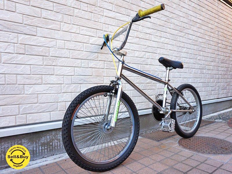 カワサキ Kawasaki ビンテージフレーム BMX 自転車 バイク ●