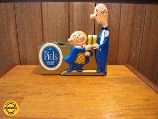 USビンテージ ピエールズ ライトビール Piels Light BEER カップホルダー ボトルスタンド Cup Holder ディスプレイ インテリア雑貨 小物★