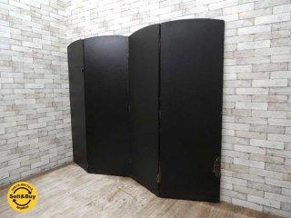 UKビンテージ パーテーション 衝立 W59〜234cm ロイズアンティークス購入品 英国アンティーク ●