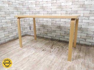 アルテック Artek テーブル80A バーチ材 アルヴァ・アアルト 北欧家具 フィンランド ダイニングテーブル ●