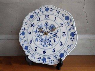 マイセン Meissen ブルーオニオン blue onion 掛け時計 ♪