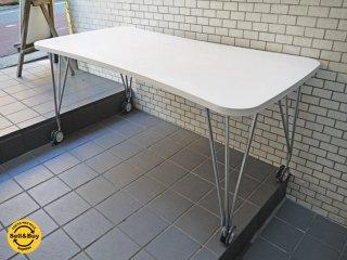 カルテル Kartell マックス MAX Table キャスター テーブル フェルッチョ・ラヴィアーニ イタリア ■