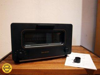 バルミューダ BALMUDA ザ トースター The Toaster スチームトースター ブラック 2015年製 ★