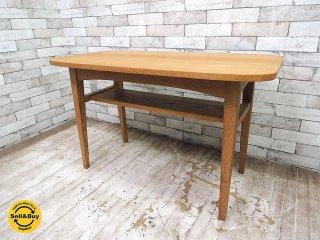 ウニコ unico クルト KURT カフェテーブル オーク材 コーヒーテーブル サイドテーブル ●