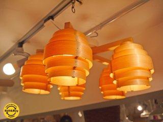 ヤマギワ yamagiwa ヤコブソンランプ JAKOBSSON LAMP C2196 5灯 シャンデリア ハンス アウネ ヤコブソン デザイン 展示品 ■