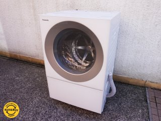 パナソニック Panasonic ドラム式 電気洗濯機 キューブル Cuble 10kg 2015年製 NA-VS1000 右開き ●