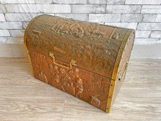 日進木工 nissin ブリックブロック BRICKBLOCK 収納ボックス W70 仕切り付き オーク材 定価\29,160 ◎
