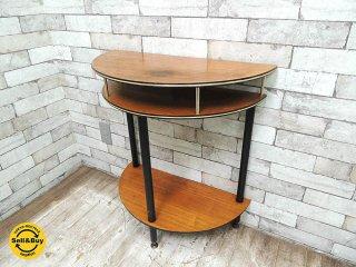 UKビンテージ 50's 60's コンソールテーブル サイドテーブル レトロファニチャー ミッドセンチュリー 英国家具 ●