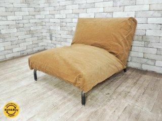 ジャーナルスタンダードファニチャー Journal Standard Furniture ロデ RODEZ カバーリング 1P ソファ リクライニングソファ 替えカバー付き ●