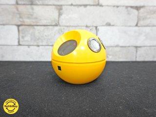 パナソニック Panasonic ボール型ラジオ 『パナペット70 R-70』 70's スペースエイジ イエロー ナショナル National ●
