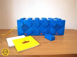 レゴ キュムポ LEGO qmpo 廃盤 CDコンポ レゴブロック CDプレーヤー&スピーカー 未使用 取説 専用箱付  ★