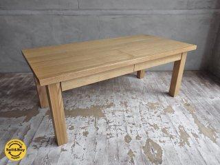 無印良品 MUJI 引出し付き ローテーブル タモ材 無垢集成材 ナチュラル ♪