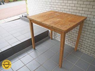 オールドメゾン old maison 古材 チーク材 ダイニングテーブル デスク ■