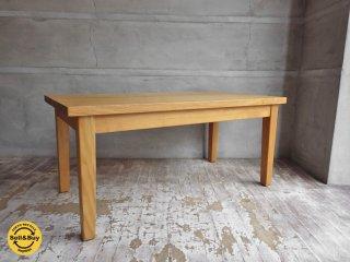 無印良品 MUJI ローテーブル タモ材 無垢材 センターテーブル 廃盤 ♪