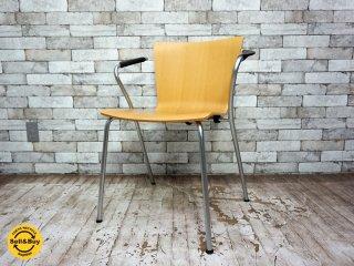 フリッツハンセン Fritz Hansen ヴィコデュオチェア VICODUO chair スタッキングチェア ビーチ材 ヴィコ・マジストレッティ Vico Magistretti デンマーク A ●