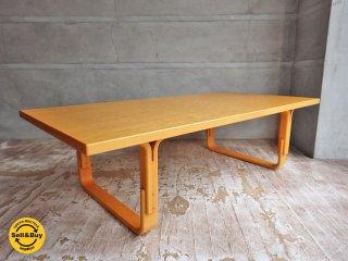 天童木工 Tendo ブルーノマットソン Bruno Mathsson デザイン Mシリーズ センターテーブル ♪