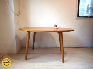 ウニコ unico アルベロ ALBERO 廃番 カフェテーブル ダイニング 別売ローテーブル用脚付 チーク材 北欧スタイル ★
