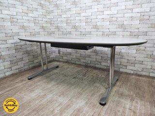 オカムラ okamura インターレイス INTER LACE 会議テーブル ミーティングテーブル 楕円 オーバル ●