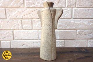 グスタフスベリ Gustavsberg リサラーソン Lisa Larson ワードローブ Wardrobe コート Coat フラワーベース 花瓶 ●