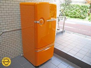 ナショナル National ウィル WiLL Fridge 260L 冷蔵庫 希少カラー 限定100台 オレンジ 2001年製 ■