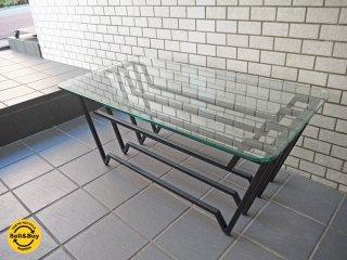 ウニコ unico VAC ガラス リビングテーブル ローテーブル Sサイズ ■