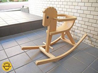 ケラー KELLER 木馬 ロッキングホース ペーター Peter ガード付き ドイツ 美品 ■