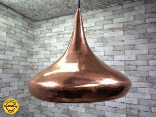 オリエンタルスタイル 銅製 ペンダントライト マーブル デュ モンド取扱い Meubles Du Monde ●