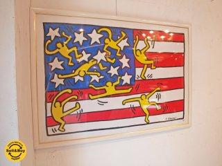 キース・ヘリング Keith Haring アメリカンミュージックフェスティバル American Music Festival ポスター アート ポップ ★