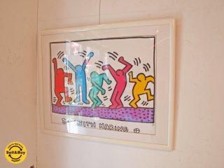 キース・ヘリング Keith Haring ダンサーズ Dancers ポスター アート ポップ ★