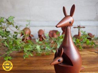ロイヤルペット ROYALPET カンガルー KANGAROO 木製玩具 ♪