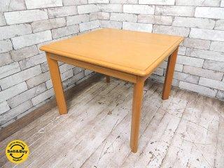 天童木工 TENDO ナラ材 センターテーブル ランプテーブル サイドテーブル W60cm ●