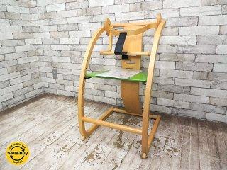 エスディアイ ファンタジア Sdi fantasia ニューバンビーニ New Bambini + baby seat ベビーガード付 木馬 ベビーチェア 佐々木敏光 ●
