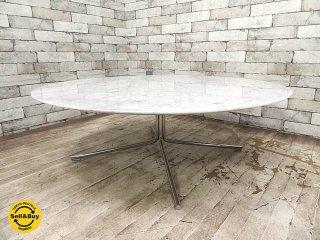カッシーナ Cassina ixc. ジェリー JELLY 大理石天板 センターテーブル ローテーブル 直径100cm ピエロリッソーニ ●