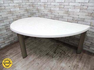 ビクター Victor バルバーニ valvanne リーフテーブル ダイニングテーブル Around the Big Table W175cm スノーホワイト 美品 ●